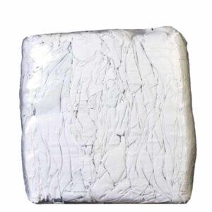 weiße glatte baumwolllappen